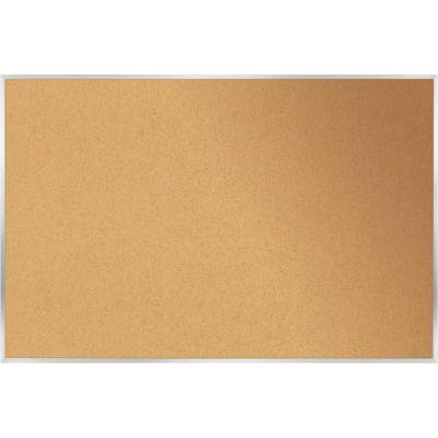 "Ghent Bulletin Board - Cork - Aluminum Frame - 18"" x 24"" - Natural"