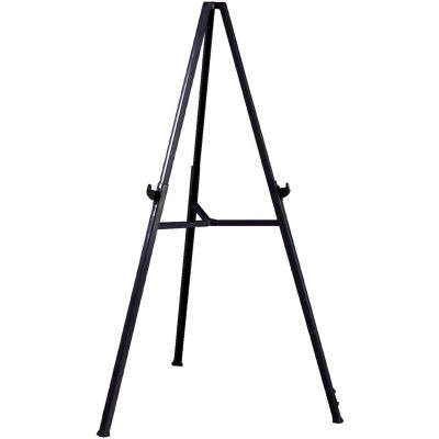 """Ghent Triumph Display Easel - Adjustable - 36""""W x 24""""H - Gray"""
