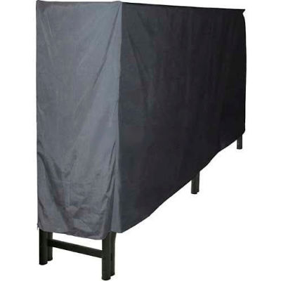Pleasant Hearth 8' Log Storage Rack Full Cover - Weathered-Resistant Polyester LC6-8LC
