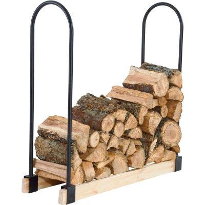Pleasant Hearth Adjustable Log Rack