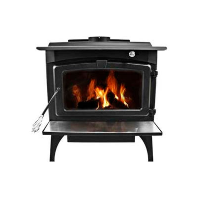 Pleasant Hearth 1,800 Sq Ft Wood Burning Stove Heater With Blower, Medium LWS-127201