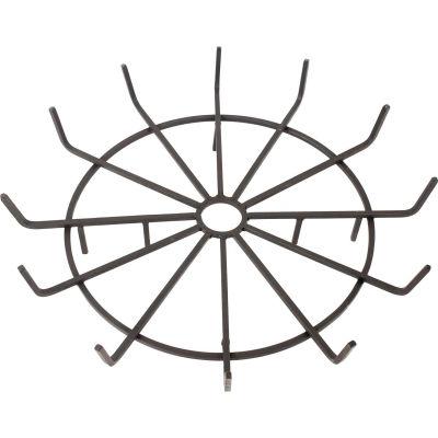 "Pleasant Hearth Wagon Wheel Steel Wood Grate 32"" Diameter"