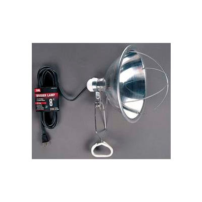 Carol 04127.60.01 8' Brooder/Heat Lamp, 18awg 125v - Black