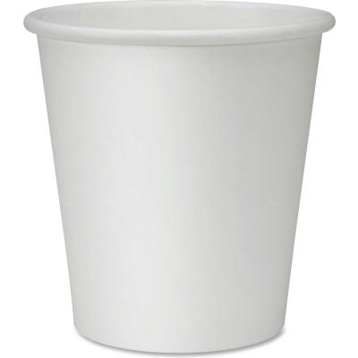 Genuine Joe Polyurethane-Lined Disposable Cups, 10 Oz., 50/Pack, White