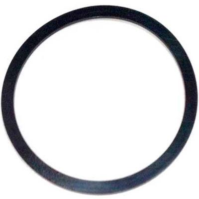 339 Contoured Backup Ring, 3-1/4ID x 3-5/8OD, 90 Duro, Round, Black