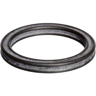 329 Quad Ring (X-Ring), 2ID x 2-3/8OD, 70 Duro, Round, Black