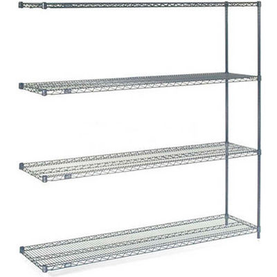 "Nexelon® Wire Shelving Add-On Unit - 5 Tier - 60""W x 18""D x 74""H"
