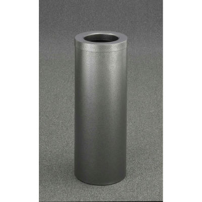 Glaro 8 Gallon Waste Receptacle w/Funnel Top, Silver Vein - F1024-SV