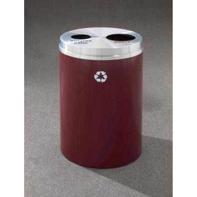 Glaro Recyclepro 2 Stream Satin Black/Satin Brass, (2) 16-1/2 Gallon Bottles/Cans/Waste - BW-2032