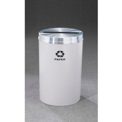 Glaro Recyclepro Single Stream Hunter Green, 33 Gallon Paper - P-2032