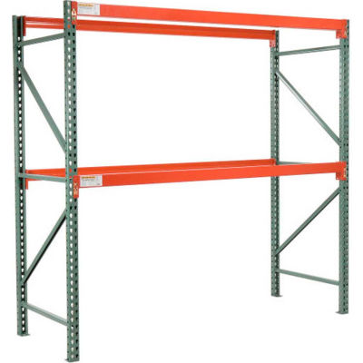 "Global Industrial™ Tear Drop Pallet Rack Starter 96""W x 48""D x 96""H"