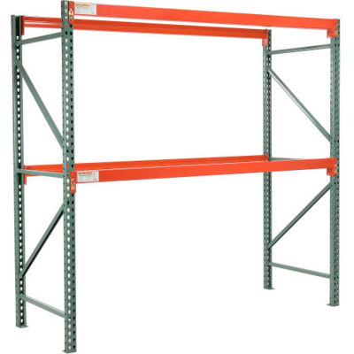 "Global Industrial™ Tear Drop Pallet Rack Starter 48""W X 42""D X 144""H"