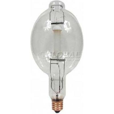 GE 41826 MVR1000/U Metal Halide Bulb BT-56 Mogul E39, 1000W, 86000 Lumens, 65 CRI, Clear