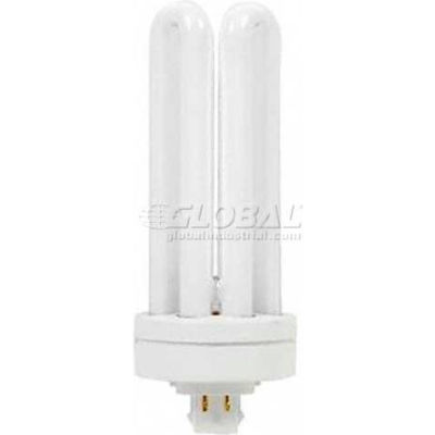 GE 97635 F42TBX/835/A/ECO CFL Bulb T-4 GX24-q4, 2690 Lumens, 82 CRI, 42W, 3500K - Pkg Qty 10