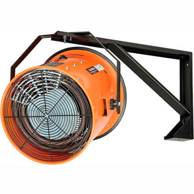 Salamander Heater – Electric Wall Mount Fan Forced - 480V 30 KW 3 Phase 36 Amps