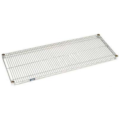 "Nexel® S1442EP Nexelate® Wire Shelf 42""W x 14""D"