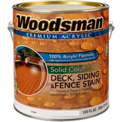 Paint Amp Accessories Liquid Coatings Woodsman 100 Acrylic Latex Deck Siding