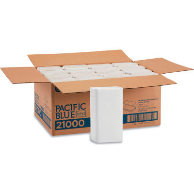 Acclaim Paper Towel, 10-1/4 x 9-1/2, White, 125/Pack, 16/Carton - GEP21000