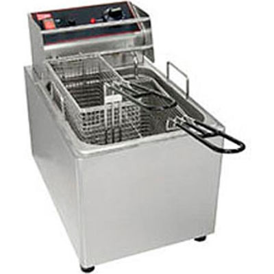 Countertop Electric Fryer-15 lb. Capacity, 240V