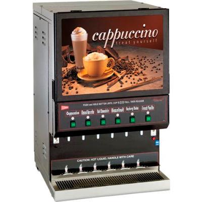 Cecilware GB6M10-LD-U - Cappucino Dispenser, 6 Flavors, Destination Series