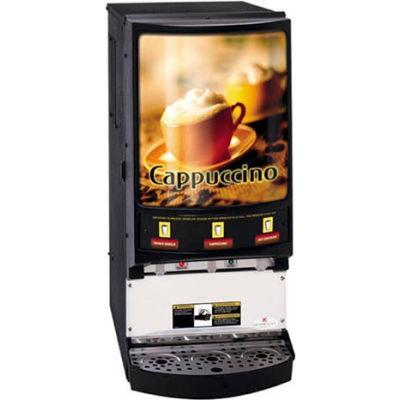 Hot Powdered Beverage Dispenser, Three Flavor