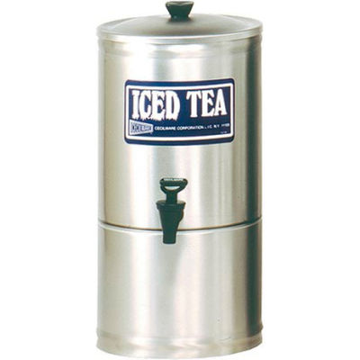 Stainless Steel Iced Tea Dispensers, 3 Gallon