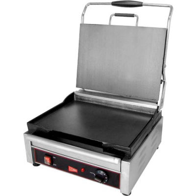 Panini / Sandwich Grill, Single Plus Flat Surface, 120V