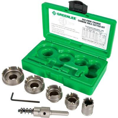 Greenlee® 660 Hole-Carbide Cutter Kit