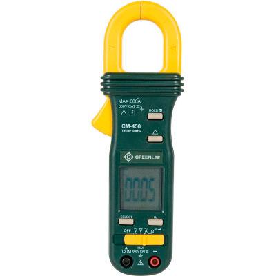 Greenlee® CM-450 True Rms Clampmeter, Ac