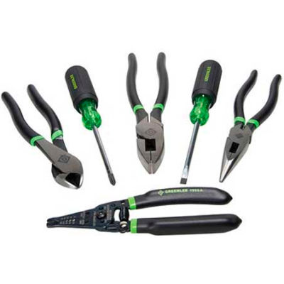 Greenlee 0159-36 Hand Tool Kit, 6 Piece