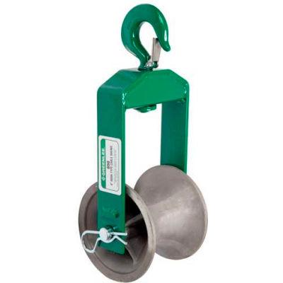 "Greenlee 650 6"" Hook-Type Sheave For Easy Tugger And Tugger"