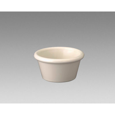 "Gessner 0361-BN - Smooth-Sided Ramekin, 2 Oz., Bone, 1-1/2""H x 2-7/8"" Diameter, 72/Pack"