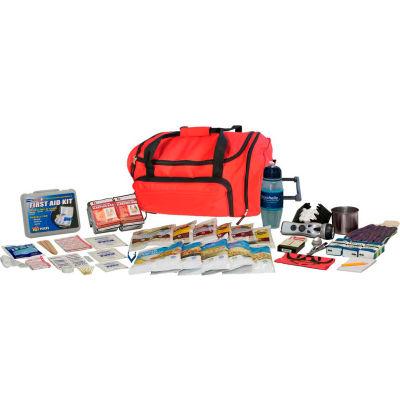 Guardian Survival Gear FSEK Food Storage Survival Kit, Wheel Bag, Red