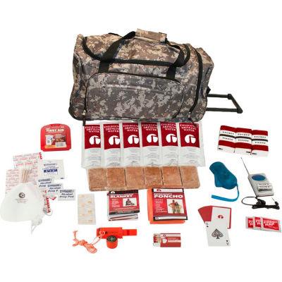 Guardian Survival Gear SKGK Survival Kit, Wheel Bag, Camo
