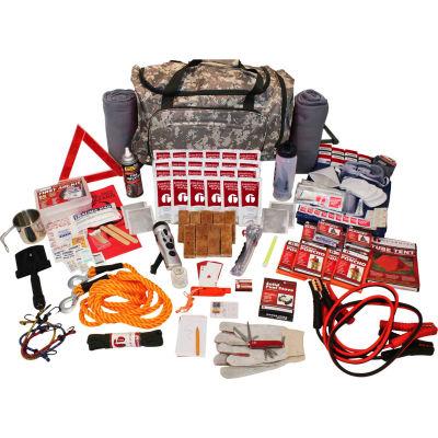 Guardian Survival Gear SKRG Family 4 Person Road Kit, Wheel Bag, Camo