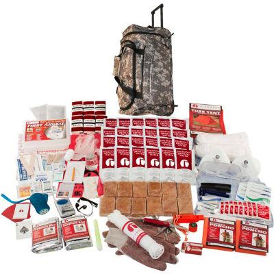 Guardian Survival Gear SKT2 2 Person Elite Survival Kit, Wheel Bag, Camo