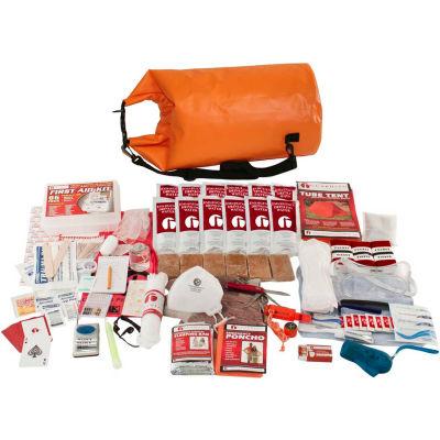 Guardian Survival Gear SKTK Elite Survival Kit in Waterproof Dry Bag Orange