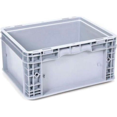 "Georg UTZ Small Load Container (SLC) 50-1512-75-0 - 15""L x 12""W x 7-1/2""H, Silver Grey"