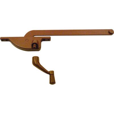 """Prime-Line H 3505 Casement Operator, 9"""" Teardrop Type, Left Hand, Bronze"""