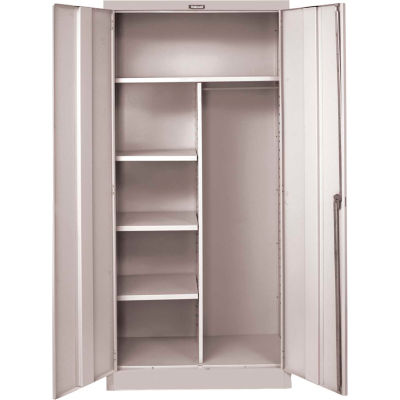 Hallowell MedSafe Antimicrobial 865C18A 800 Series Solid Door Combination Cabinet 48x18x78 Assembled