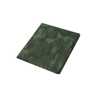 7' x 10 ' Light Duty 3.3 oz. Tarp, Camouflage/Green - CAMO7x10