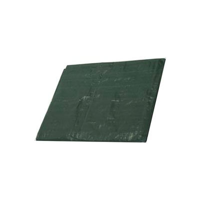 10' x 10' Medium Duty 4.5 oz. Tarp, Forest Green - G10x10