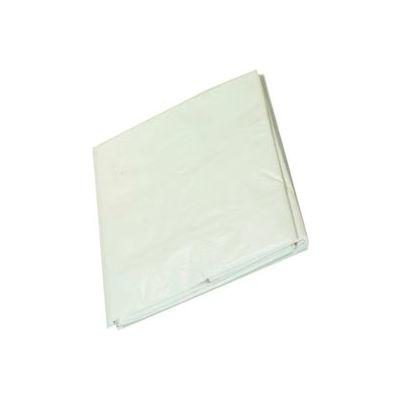 6' x 40' Medium Duty 6 oz. Tarp, White - ST640W