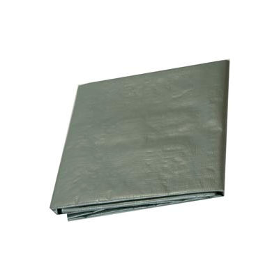 7' x 40' Medium Duty 6 oz. Tarp, Silver - ST7x40