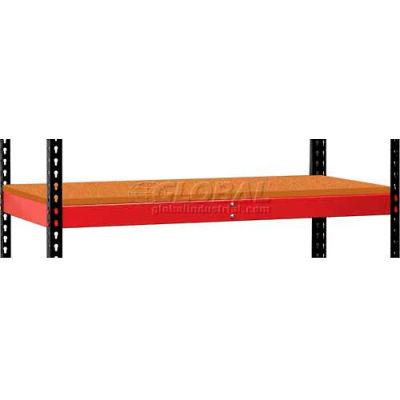 "Hallowell FKRL4824W-RR-HT Fort Knox Rivetwell Extra Level w/Particle Board Deck, 48"" x 24"" x 3.375"""