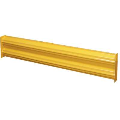 Hallowell Steel Guardrail, 5'L, Safety Yellow