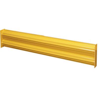 Hallowell Steel Guardrail, 9'L, Safety Yellow