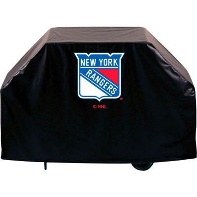 """Holland Bar Stool, Grill Cover, New York Rangers, 72""""L x 21""""W x 36""""H"""
