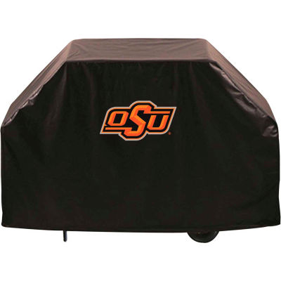 """Holland Bar Stool, Grill Cover, Oklahoma State, 72""""L x 21""""W x 36""""H"""