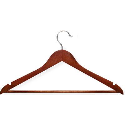 Suit Hanger, Cherry, 24-Pack